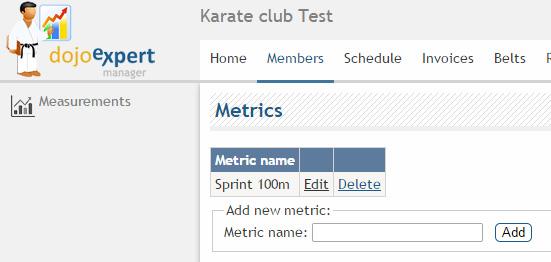DojoExpert - metrics and measurements tutorial